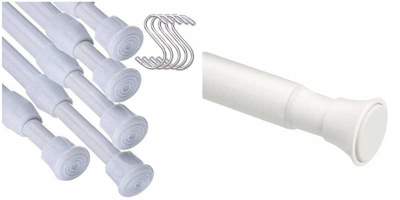Barras blancas de cortinas barata baratas precio precios comprar barrasdecortina, cortinajoven, bauhaus, ferretería,