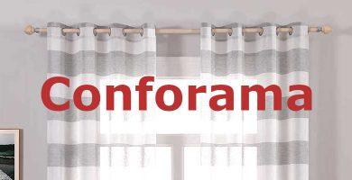 barras de cortina Conforama