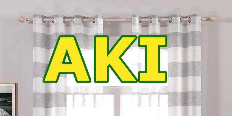 barras de cortinas Aki