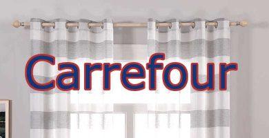 barras de cortinas Carefour