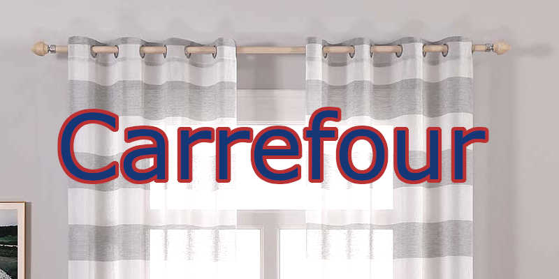 barras de cortinas Carefour