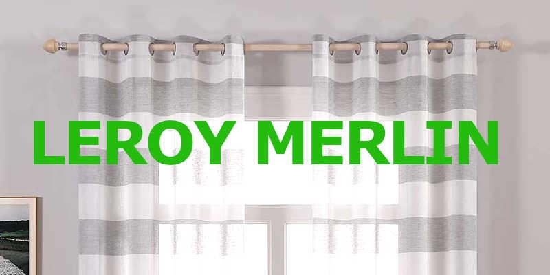 barras de cortinas Leroy merlin barato baratos barata baratas preacio precios comprar oferta ofertas resbaja rebajas